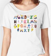Gamer's Alphabet Women's Relaxed Fit T-Shirt