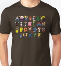 Gamer's Alphabet Unisex T-Shirt