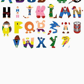 Gamer's Alphabet by jcthomason