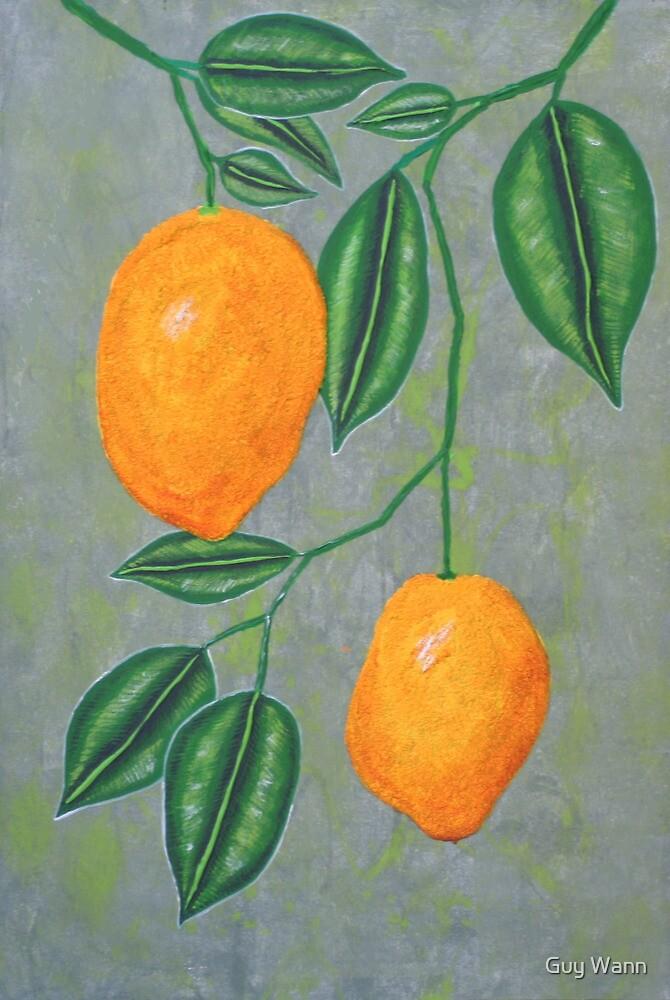 Two Lemons by Guy Wann