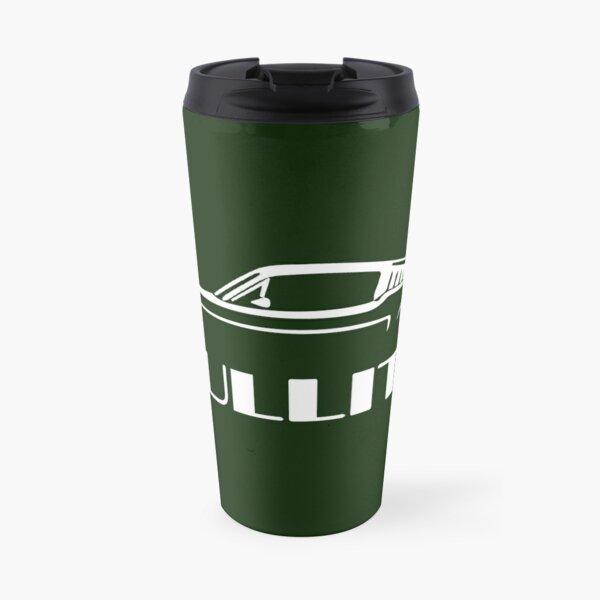 Bullitt Mustang silhouette Travel Mug