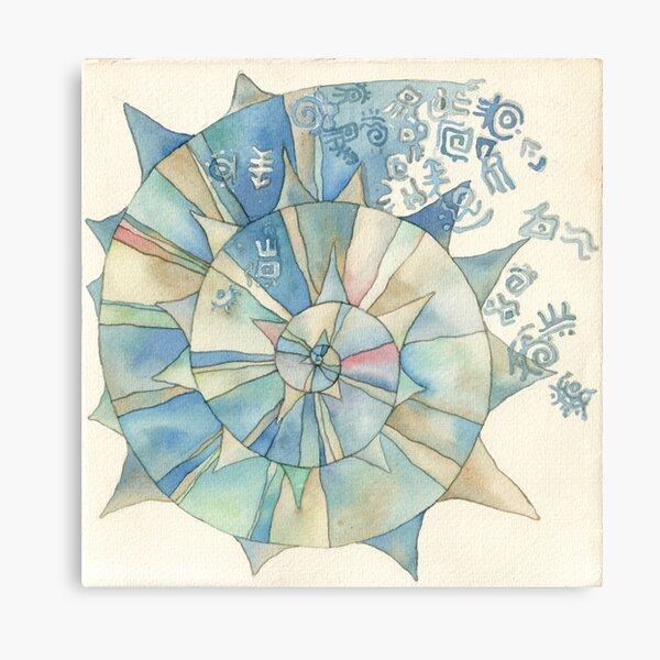 Lighea- shell Canvas Print