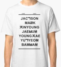 Camiseta clásica amor got7