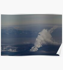 Grímsvötn eruption Poster