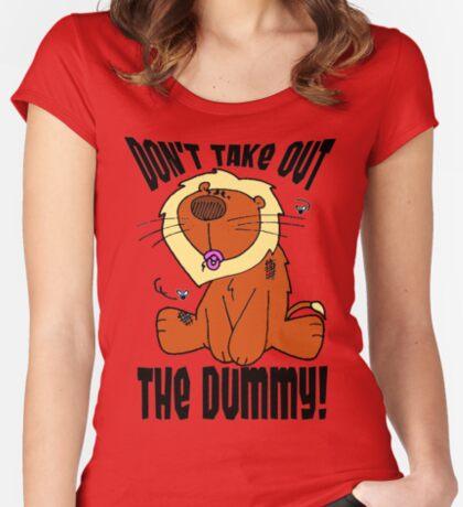 Scrummy Dummy Women's Fitted Scoop T-Shirt