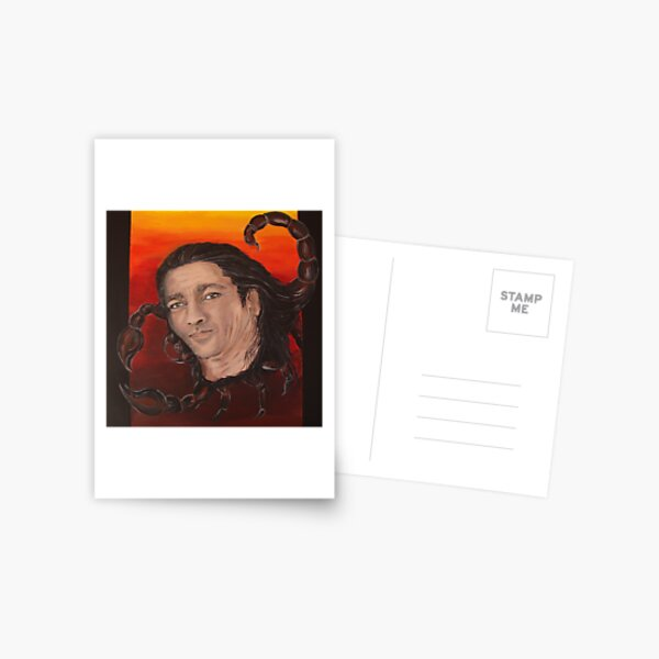 Scorpio Man Portrait - Ray of sunshine Postcard