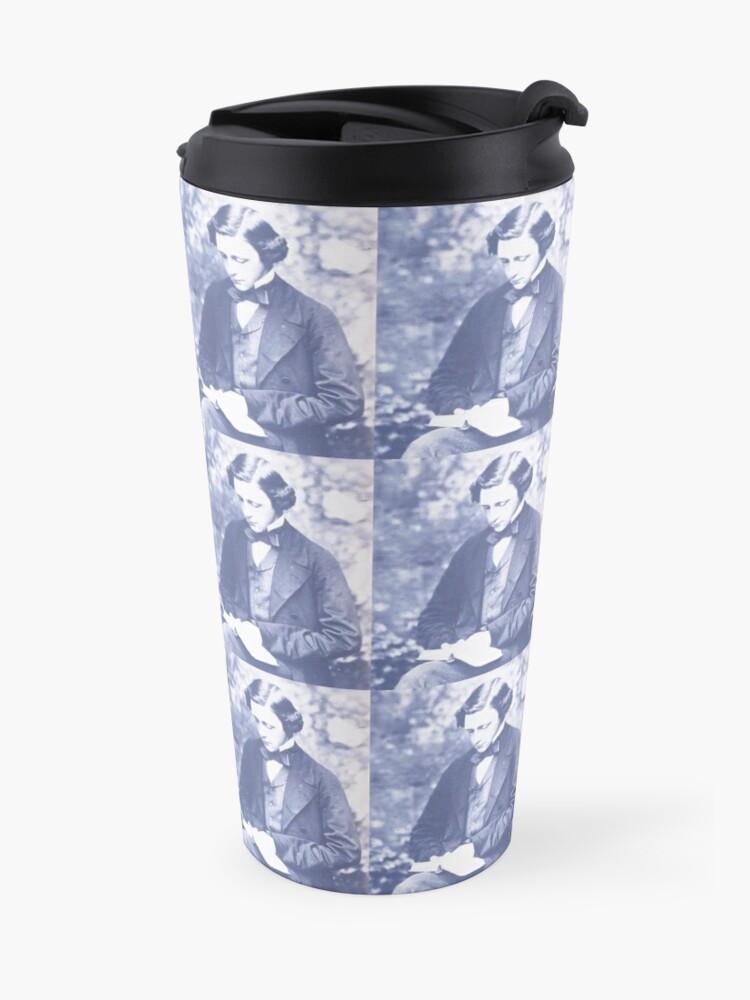 Alternate view of Lewis Carroll (Charles Lutwidge Dodgson) Travel Mug