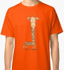 Cute Funny Giraffe Classic T-Shirt