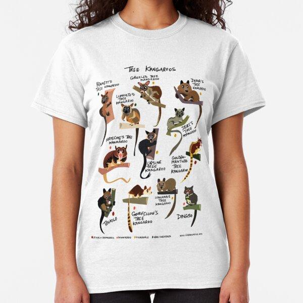 Tree Kangaroos Classic T-Shirt