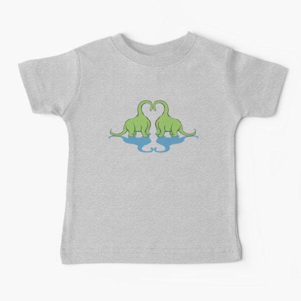 Dino Love Baby T-Shirt