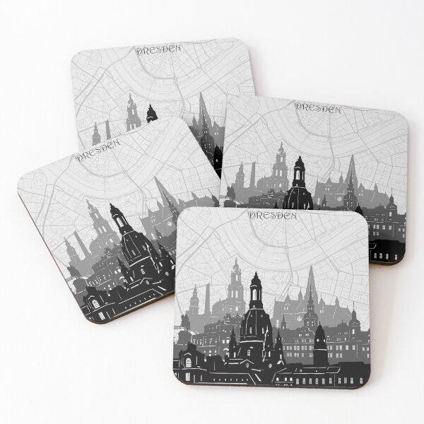 dresden skyline Coasters (Set of 4)