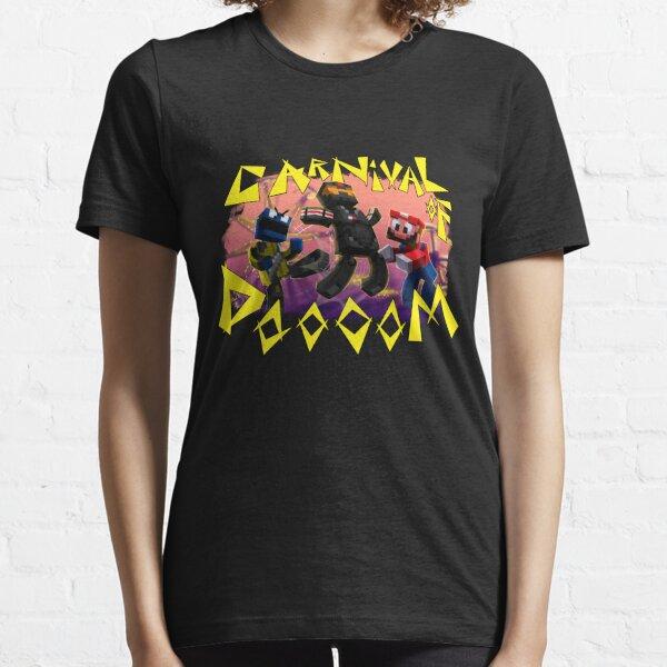 Carnival of Doooom w/Text Essential T-Shirt