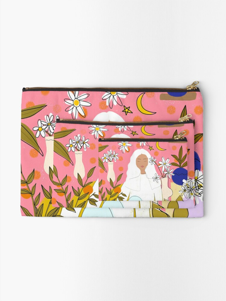 Alternate view of CALM Zipper Pouch