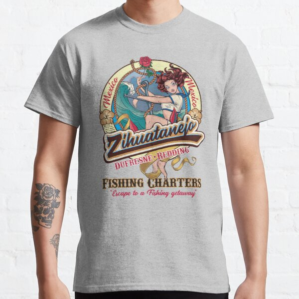 Zihuatanejo Fishing Charter Mexico Dufresne and Redding Classic T-Shirt