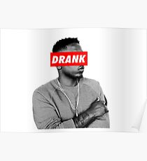 "Kendrick Lamar ""DRANK"" OBEY Style Poster"