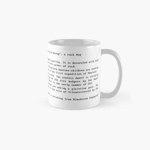 DWARF FORTRESS ROCK MUG ARTIFACT  Classic Mug