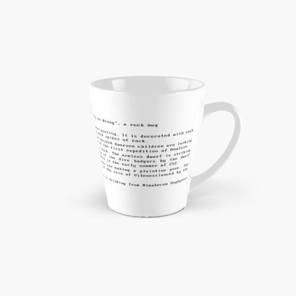 DWARF FORTRESS ROCK MUG ARTIFACT  Tall Mug