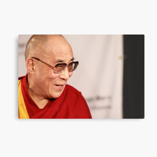 H.H., the 14th Dalai Lama Metal Print