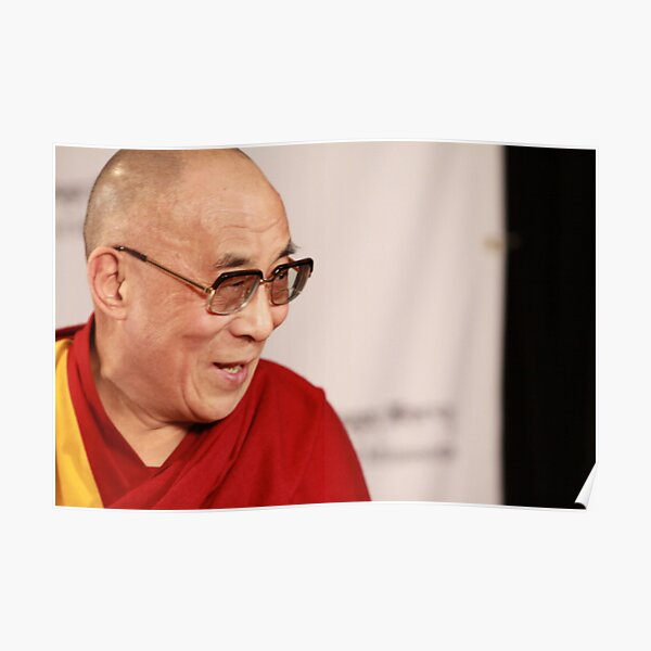H.H., the 14th Dalai Lama Poster
