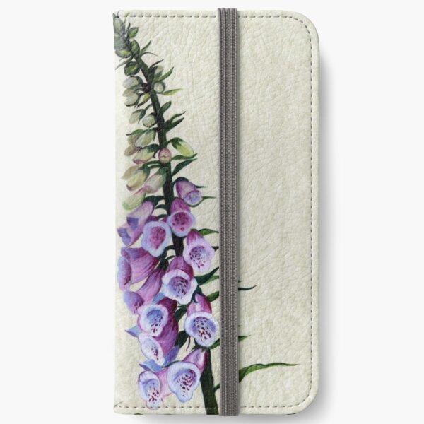 Digitalis purpurea - Foxglove iPhone Wallet