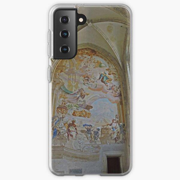 Mural, St Barbara's cathedral, Kutna Hora, Czech Republic Samsung Galaxy Soft Case