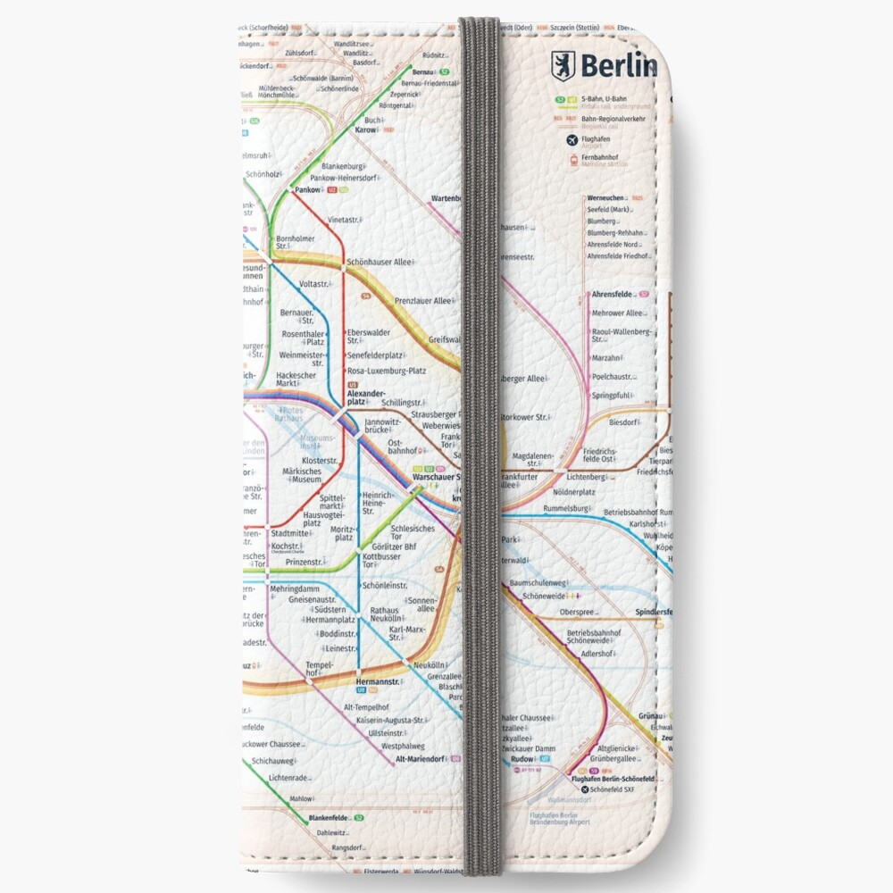 New Berlin rapid transit route map (December 15, 2019) iPhone Wallet