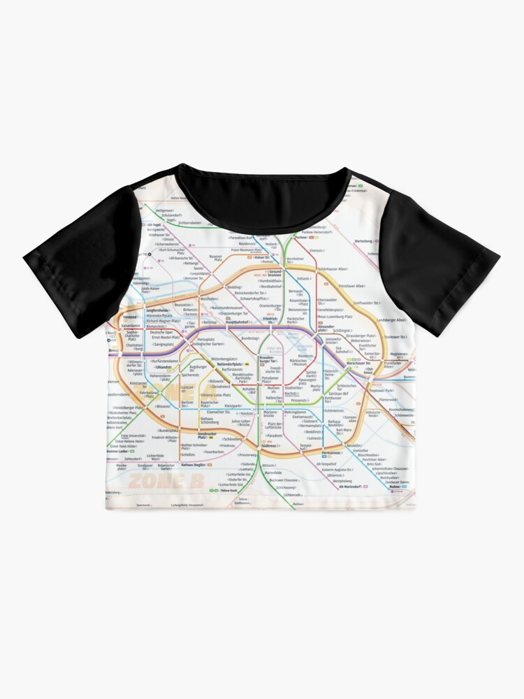 Alternate view of New Berlin rapid transit route map (December 15, 2019) Chiffon Top