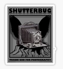 SHUTTERBUG Sticker