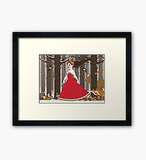 Flora in the Forest Framed Print