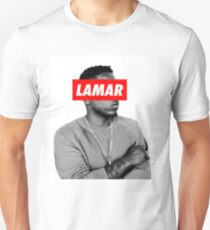 "Kendrick Lamar ""LAMAR"" OBEY Style T-Shirt"
