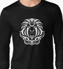 Zodiac Sign Leo White Long Sleeve T-Shirt