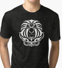 Zodiac Sign Leo White Tri-blend T-Shirt