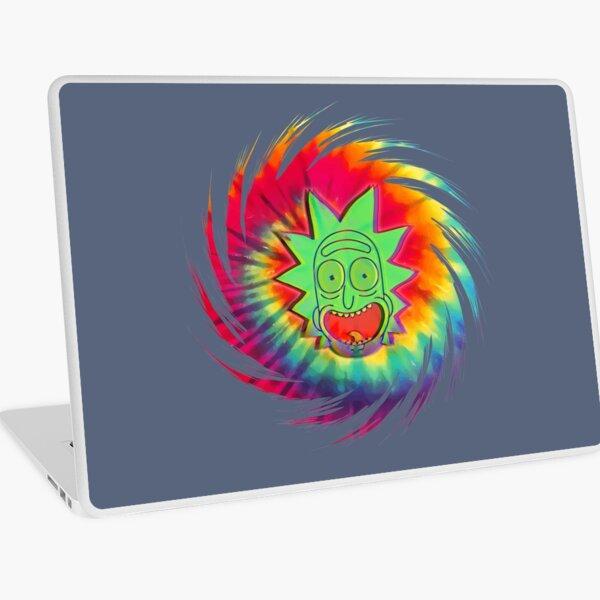 Tie Dye Rick - Rick and Morty™ Laptop Skin