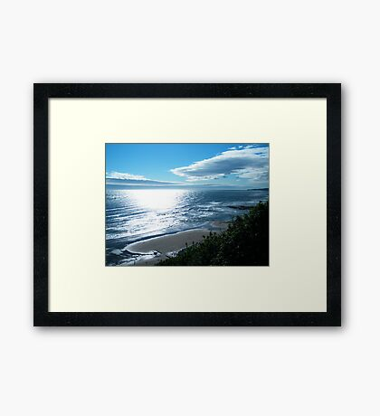 Waters Edge Morning Framed Print