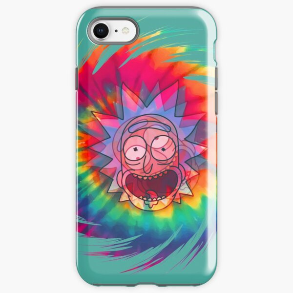 Spun - Out Hippie Rick ~ Music Festival - Rick and Morty™ iPhone Tough Case