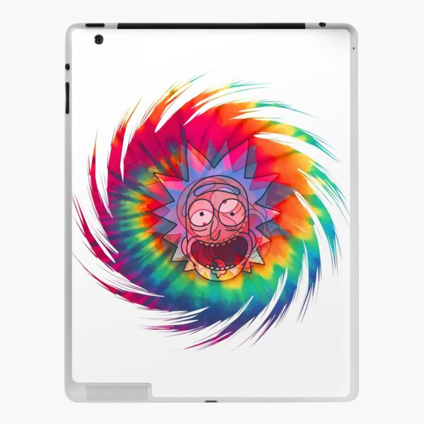 Spun - Out Hippie Rick ~ Music Festival - Rick and Morty™ iPad Skin