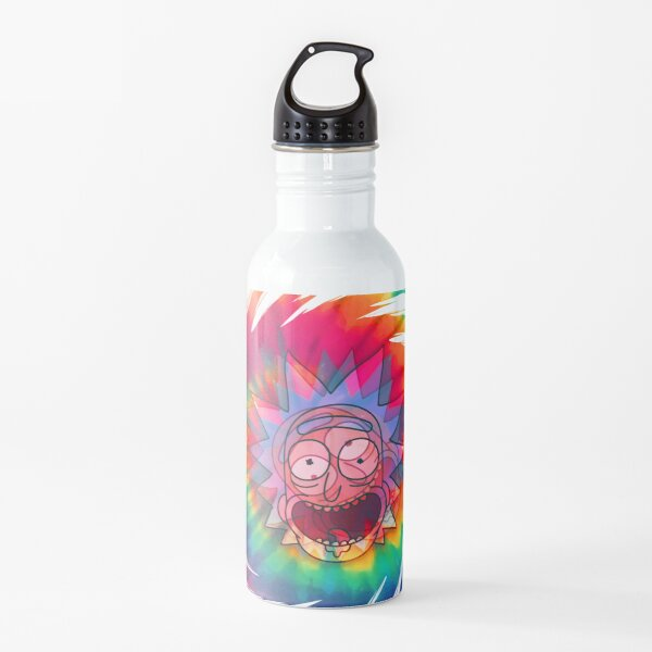Spun - Out Hippie Rick ~ Music Festival - Rick and Morty™ Water Bottle