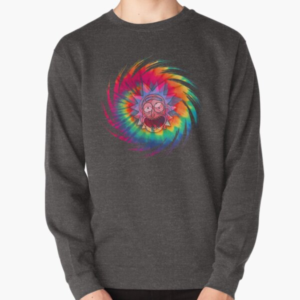 Spun - Out Hippie Rick ~ Music Festival - Rick and Morty™ Pullover Sweatshirt