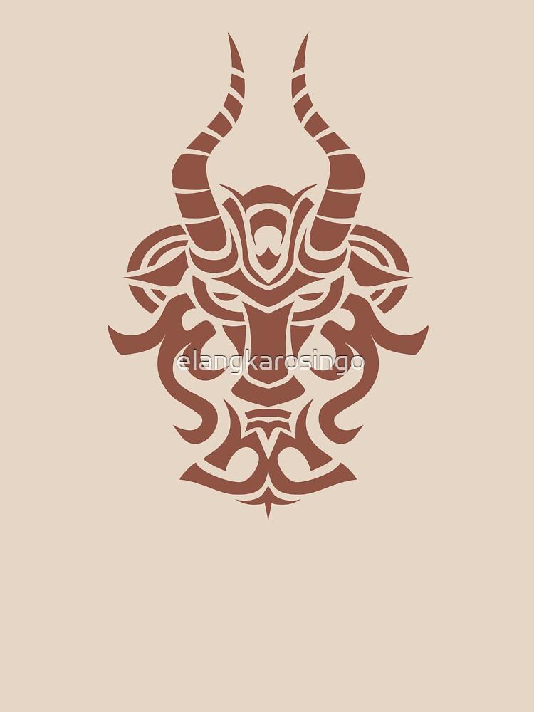 Zodiac Sign Capricorn Brown by elangkarosingo