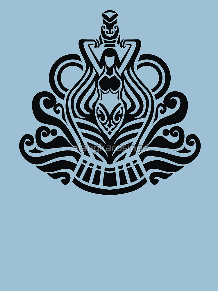 Zodiac Sign Aquarius Black by elangkarosingo