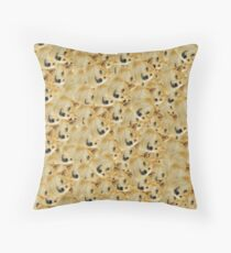 Doge Throw Pillow