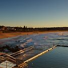 Curl Curl Panorama by Mark  Lucey