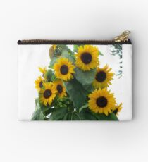The Buzzing of Sunflowers Studio Pouch