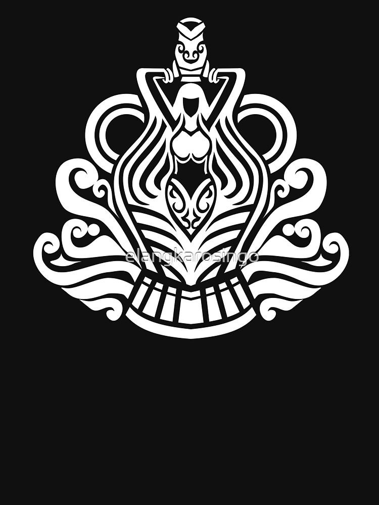 Zodiac Sign Aquarius White by elangkarosingo
