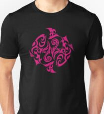 Zodiac Sign Pisces Pink Unisex T-Shirt