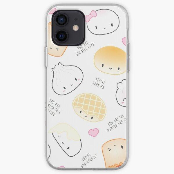 Cute Dimsum Puns iPhone Soft Case