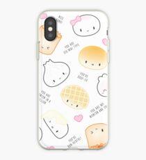 Cute Dimsum Puns iPhone Case
