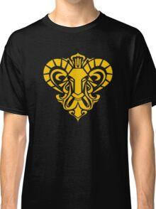 Zodiac Sign Aries Gold Classic T-Shirt