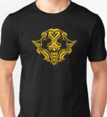 Zodiac Sign Gemini Gold Unisex T-Shirt