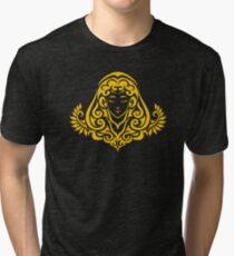 Zodiac Sign Virgo Gold Tri-blend T-Shirt
